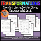 Grade 5 Transformations Review and Test