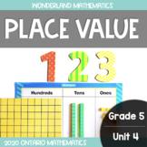 Grade 5, Unit 4: Place Value (Wonderland Mathematics)