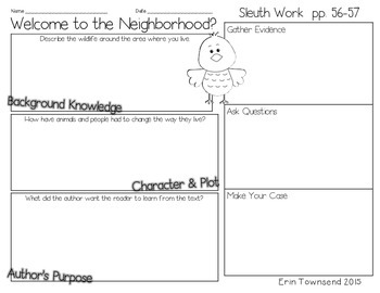 Grade 5 Unit 5 Reading Street SLEUTH Graphic Organizers