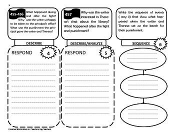 Grade 5 Unit 6 - Reading Wonders Trifolds + Activities Bundle