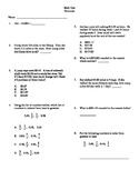 Grade 5 - Unit test on decimals