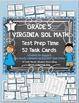 Grade 5 VIRGINA SOL MATH TASK CARDS SET 1 TEST PREP