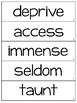 Grade 5 Vocabulary