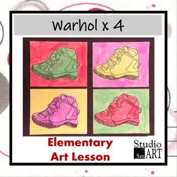 Grade 5 Warhol X4
