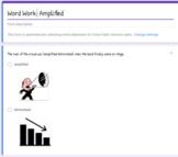 Grade 5 Word Work Bundle