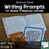 Writing Prompts for Reader's Response Journals Grade 5