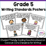 Grade 5 Writing Standards Posters!  ~Student Friendly Questions~