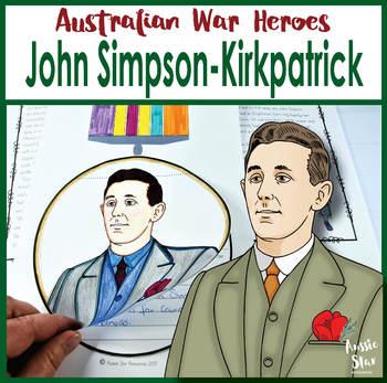 Australian War Heroes Simpson and His Donkey