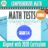 Grade 5 and 6 Ontario Math Test SPIRALLED BUNDLED