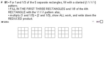 Grade 5 FRACTIONS UNIT 6: [Multiply mixed numbers]-4 worksheets, 6 quizzes