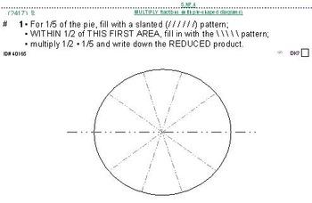 Grade 5 FRACTIONS UNIT 5: [Multiply proper fractions]-4 worksheets, 7 quizzes