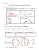 Grade 6 2D Geometry Quiz/Test Version 2 (Mod. to meet some Grade 4 and 6 exp.)