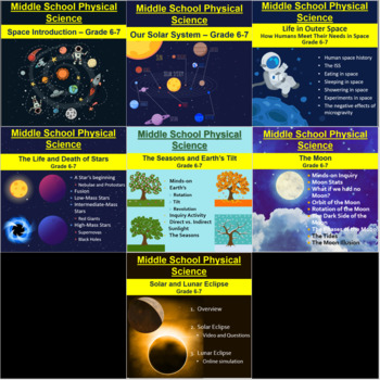 Grade 6-7 Complete Space Unit