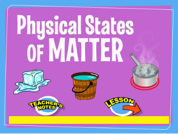 Grade 6-8 Lesson Plan- Physical States of Matter!