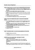 Grade 6 ABRSM Aural test helpsheet