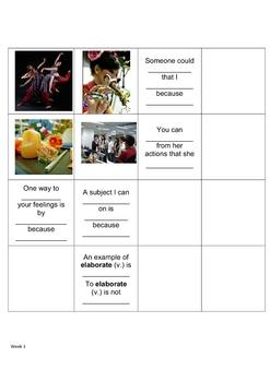 Grade 6 Academic Vocabulary Word Sort