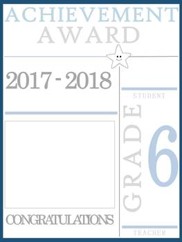 6th Grade Achievement Awards
