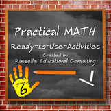 Grade 6 Activities: Patterns, Relationships, and Algebraic Thinking