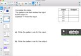 Grade 6 Atlantic Math - Input/Output