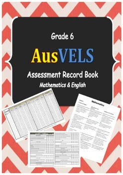 Grade 6 AusVELS Assessment Record Book Preview