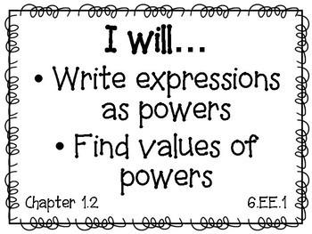 Grade 6 Big Ideas Math Objectives