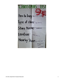 Grade 6: Christmas Navigation Lesson Plan