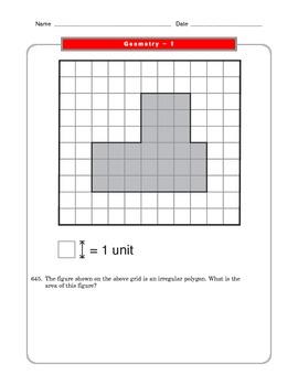 Grade 6 Common Core: Geometry Math Worksheet 1.2