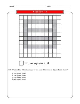 Grade 6 Common Core: Geometry Math Worksheet 1.3