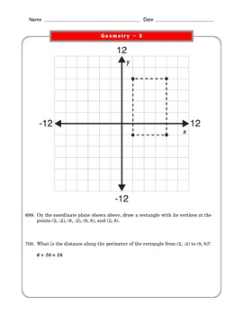 Grade 6 Common Core: Geometry Math Worksheet 3.5