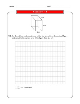 Grade 6 Common Core: Geometry Math Worksheet 4.1