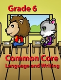 Grade 6 Common Core Language and Writing Practice Value Bundle