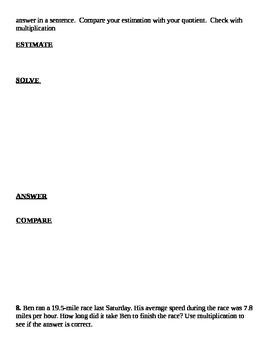Grade 6 Common Core Math Module 2 Lessons 12-15 Review