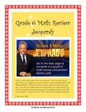 Grade 6 Common Core Math Review JEOPARDY - Smart Board Game