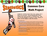 Grade 6 Common Core Statistics Project - Basketball Assessment