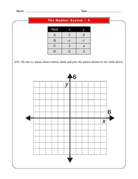 Grade 6 Common Core: The Number System Math Worksheet 6.2
