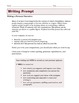 Grade 6 Common Core Writing Prompts Bundle
