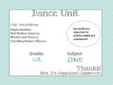 Complete Dance Unit
