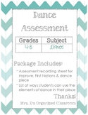Dance Unit Assessment