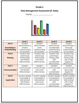 Grade 6 Data Management Assessment