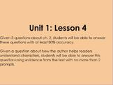 Lightning Thief- Grade 6 ELA Module 1 Unit 1 Lesson 4