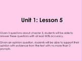 Lightning Thief- Grade 6 ELA Module 1 Unit 1 Lesson 5