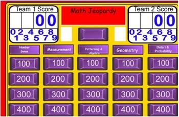 Grade 6 EQAO Math Trivia Game