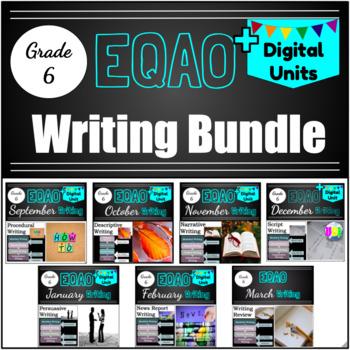 Grade 6 EQAO - Writing Bundle