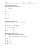Grade 6 - Equations and Expressions NYS Exam Questions