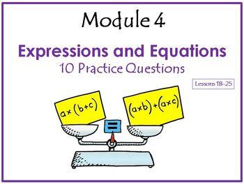 Grade 6 Eureka Math Module 4 Lessons 18 -25