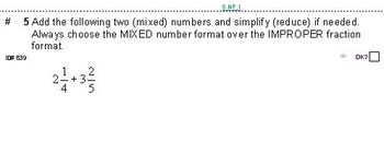 Grade 6 FRACTIONS UNIT 1: [Review of grade 5]-4 worksheets, 7 quizzes