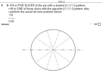 Grade 6 FRACTIONS UNIT 2: [Division of fractions]-4 worksheets, 6 quizzes