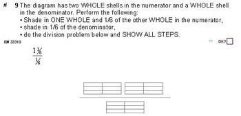 Grade 6 FRACTIONS UNIT 3: [Division w/mixed numbers]-4 worksheets, 7 quizzes