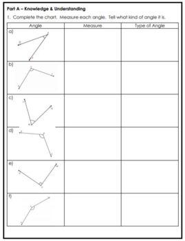 Grade 6 Geometry Assessment