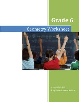 Grade 6 Geometry Worksheet